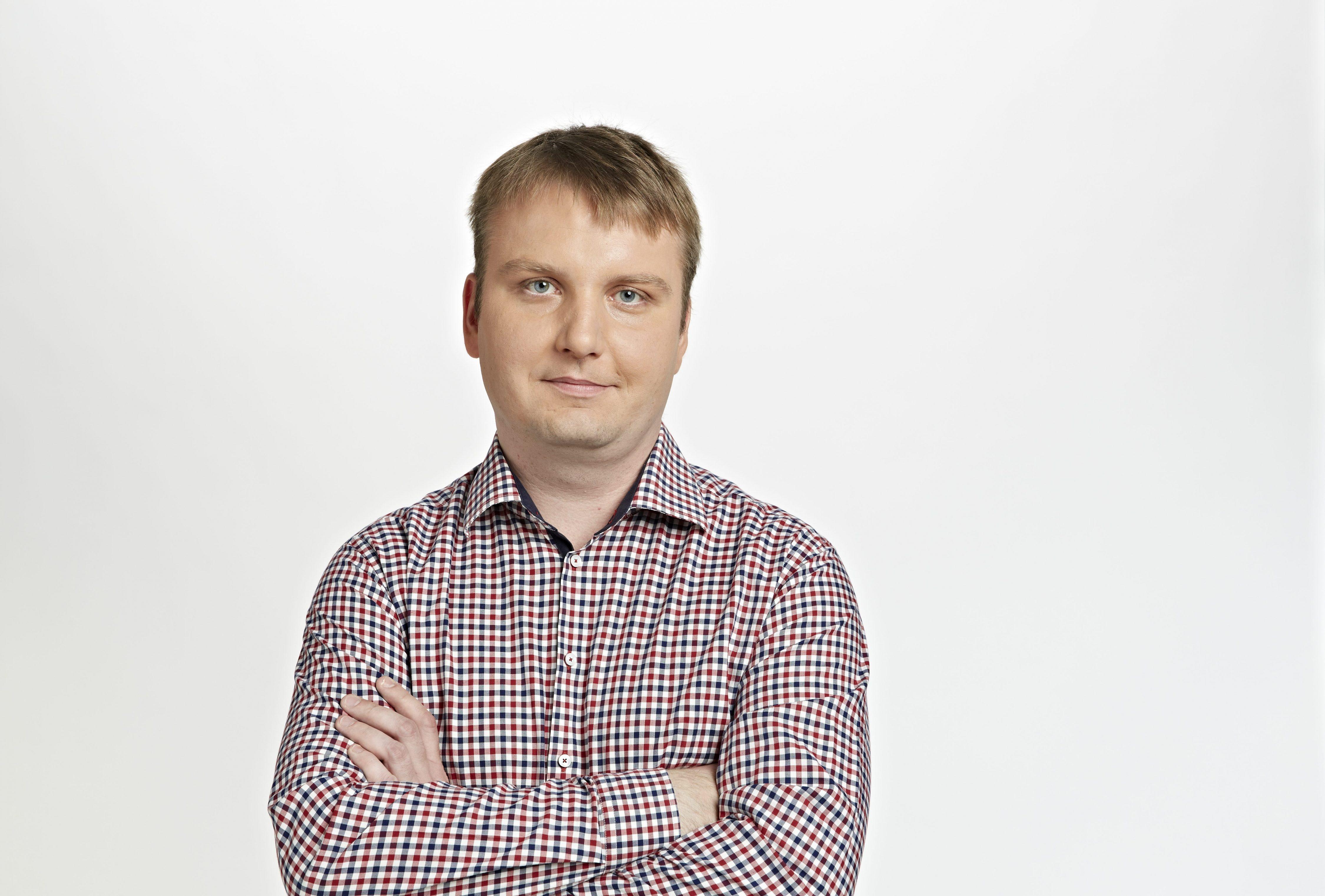 16.09.2014 Warszawa . Dziennikarz Gazety Wyborczej Michal Kokot . Fot. Pawel Kiszkiel / Agencja Gazeta