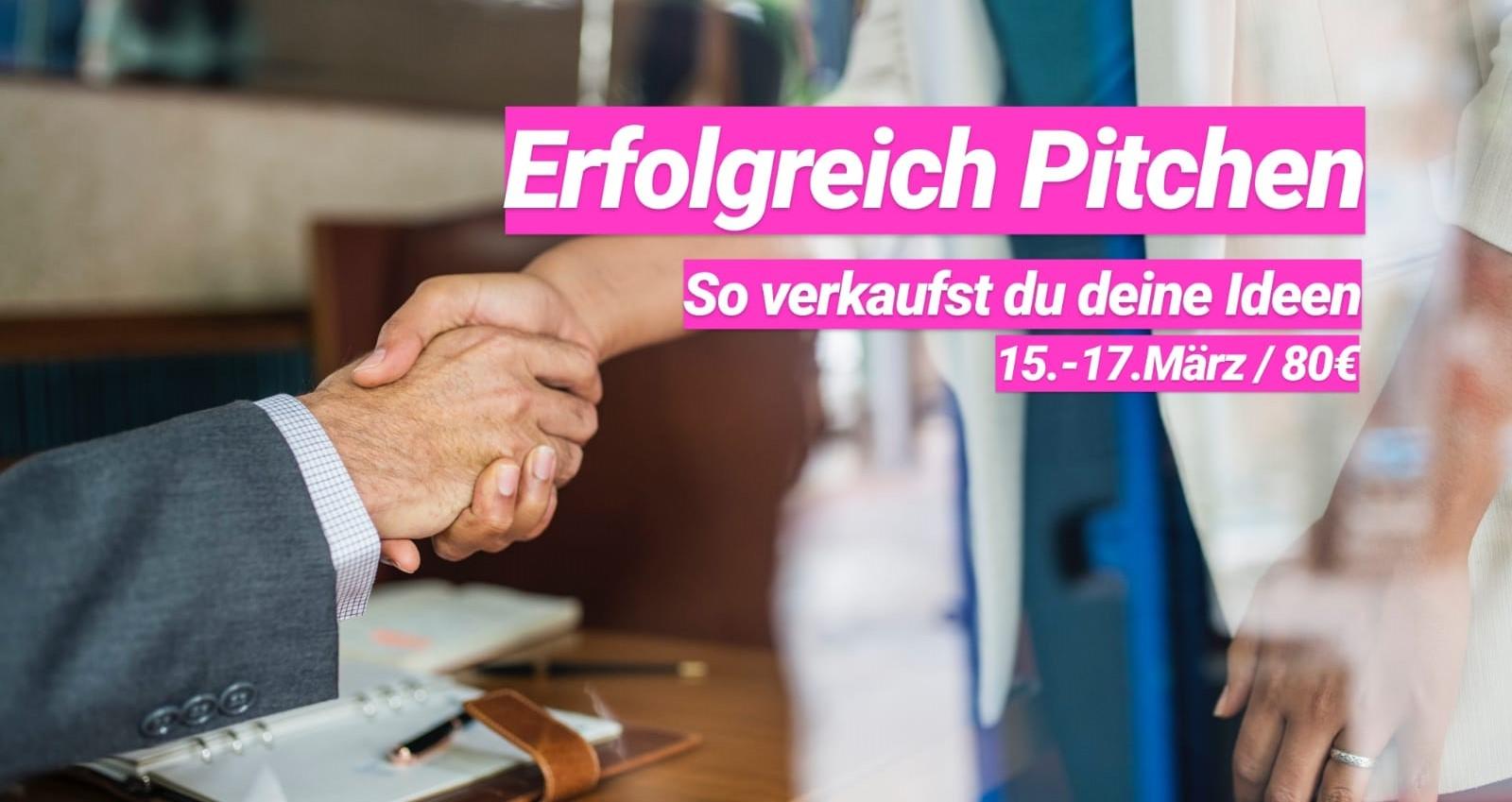 """NJB-Seminar """"Erfolgreich pitchen - So verkaufst du deine Ideen"""""""