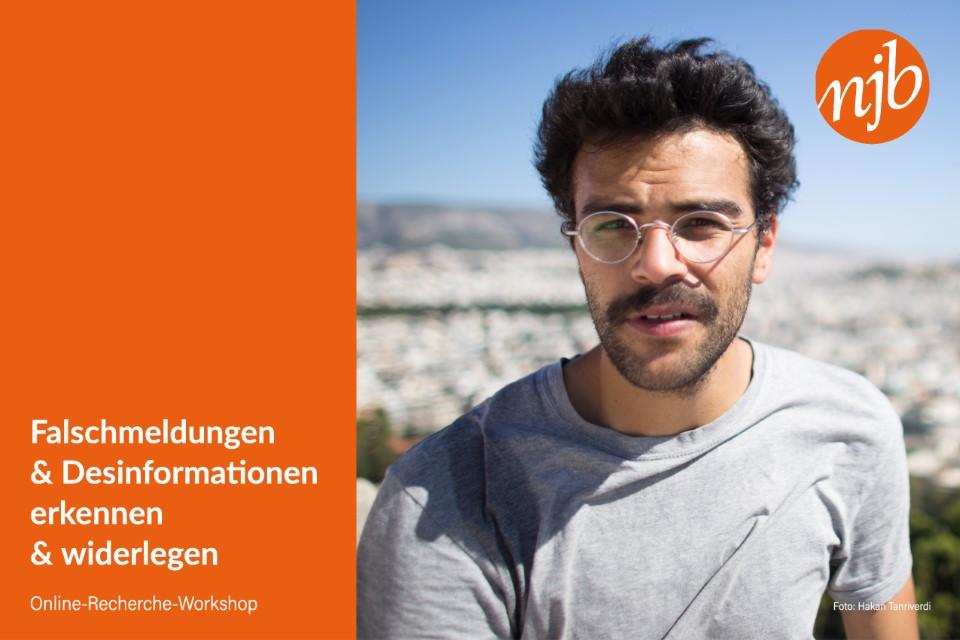 Online-Recherche-Workshop mit Sammy Khamis (BR): Falschmeldungen und Desinformationen erkennen & widerlegen